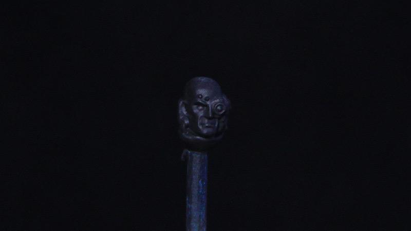 Triplozero dipingere un incarnato umano pittura di un volto